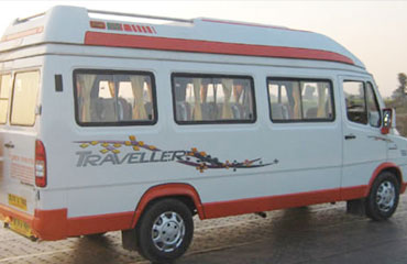 16 Seater Tempo Traveller Hire in Amritsar