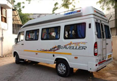 8 Seater Tempo Traveller Hire in Amritsar
