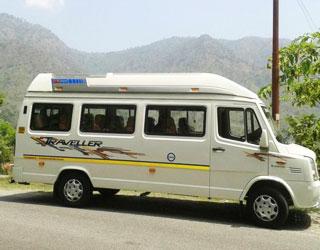 9 Seater Tempo Traveller